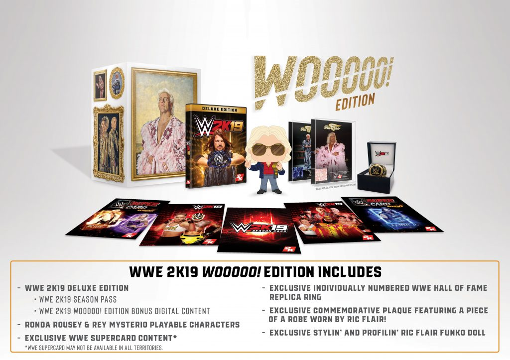 WWE2K19 Collectors Edition Contents