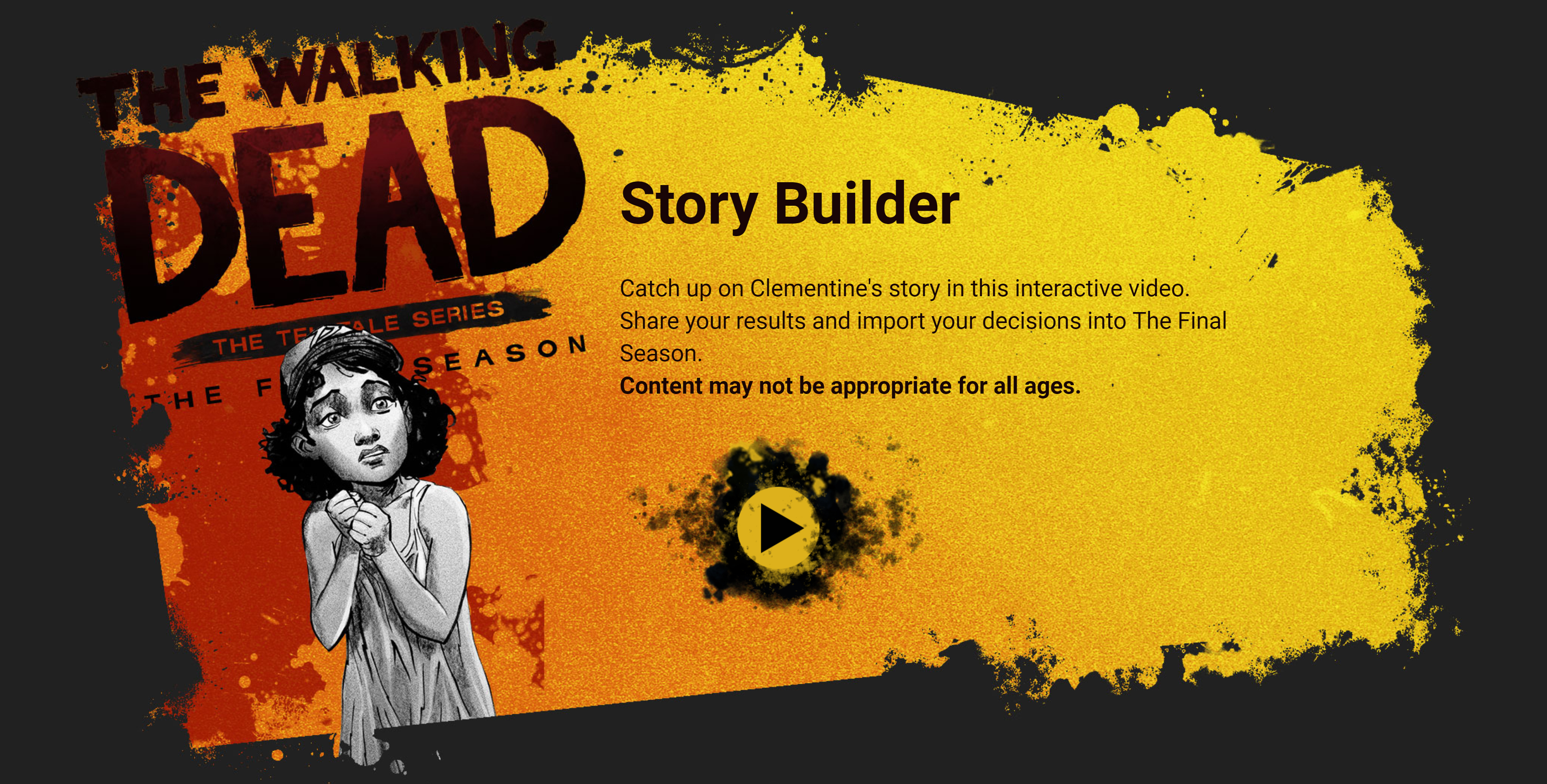 The Walking Dead - Story Builder