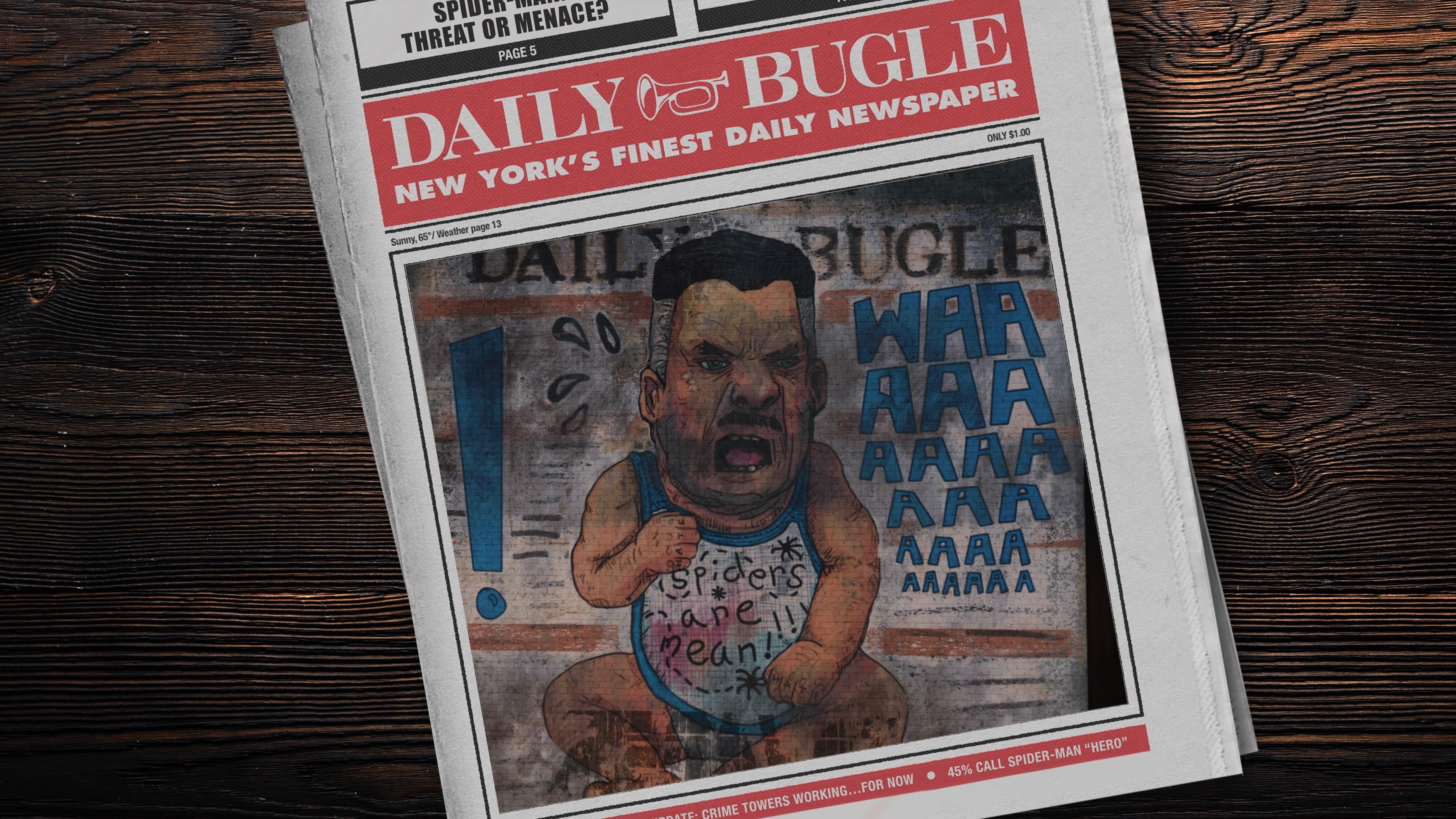 Marvel's Spider-Man - J Jonah Waaaaameson