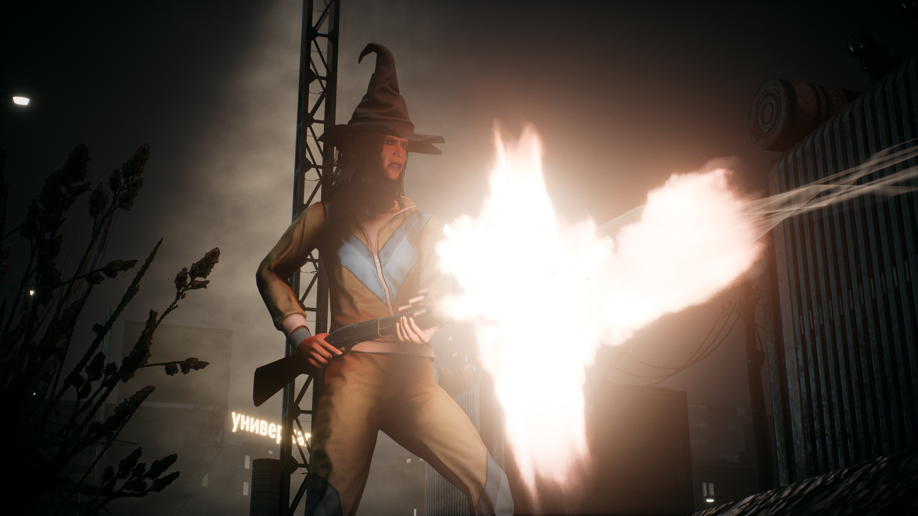 Phantom Doctrine - witch and boomstick