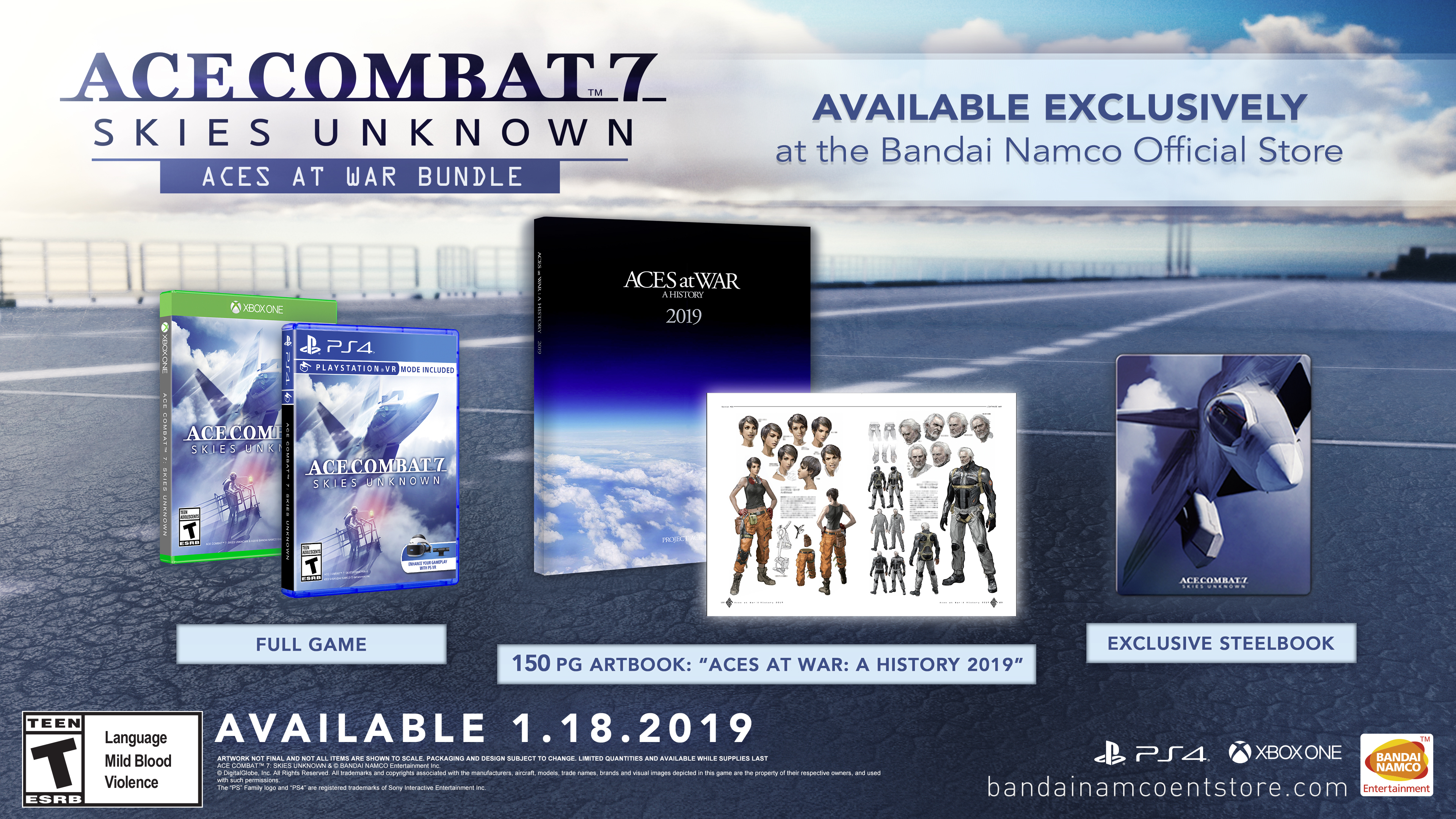 Ace Combat 7: Skies unknown - Aces at War Bundle