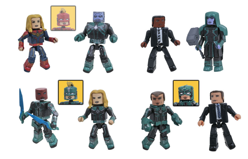 Diamond Select Walgreens exclusive Minimates