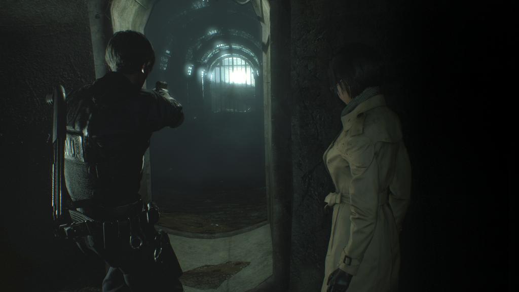 Resident Evil 2 - daylight