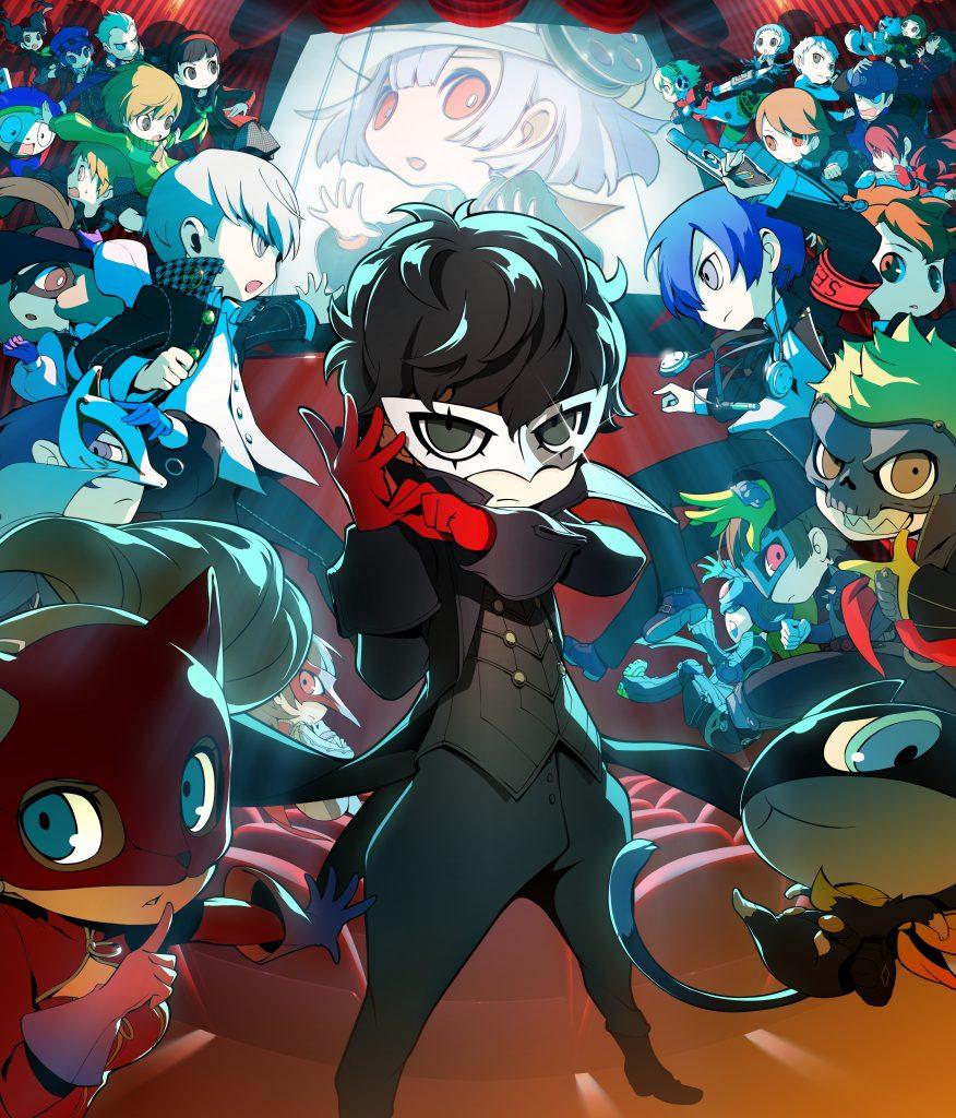 Persona Q2: New Cinema Labyrinth - key art