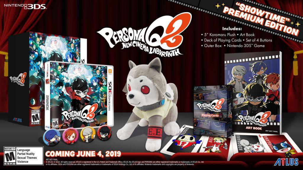 Persona Q2: New Cinema Labyrinth - Showtime edition