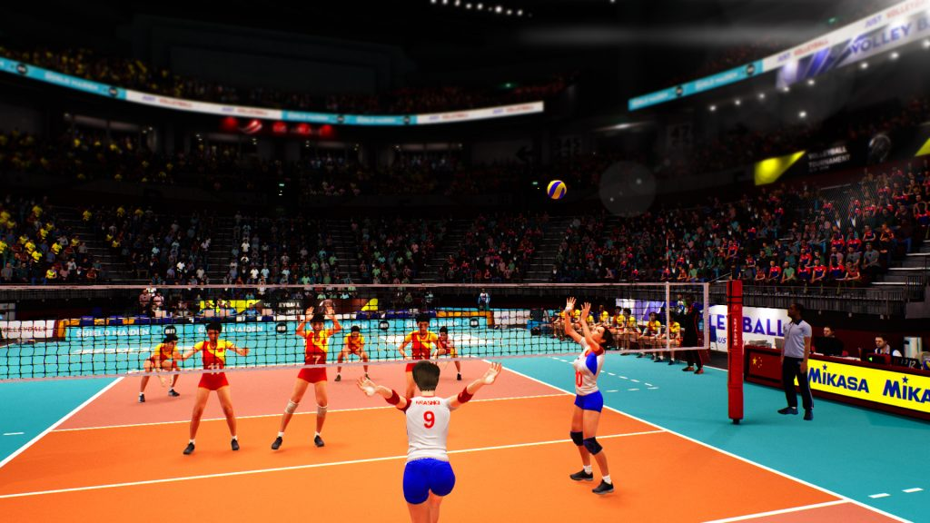 Spike Volleyball - Women's team