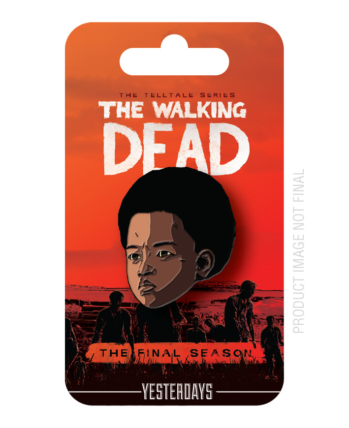 The Walking Dead: The Final Season - AJ pin