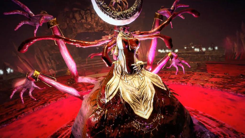 Hell Warders - Scythe Monster