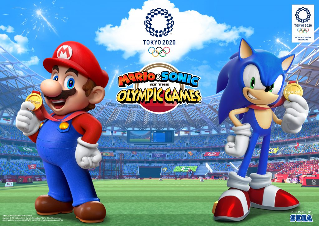 Mario & Sonic at the Olympic Games Tokyo 2020 - cover art