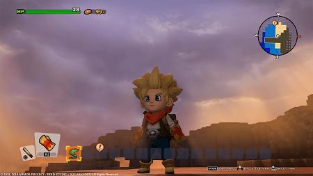 Dragon Quest Builders 2 - boy hero