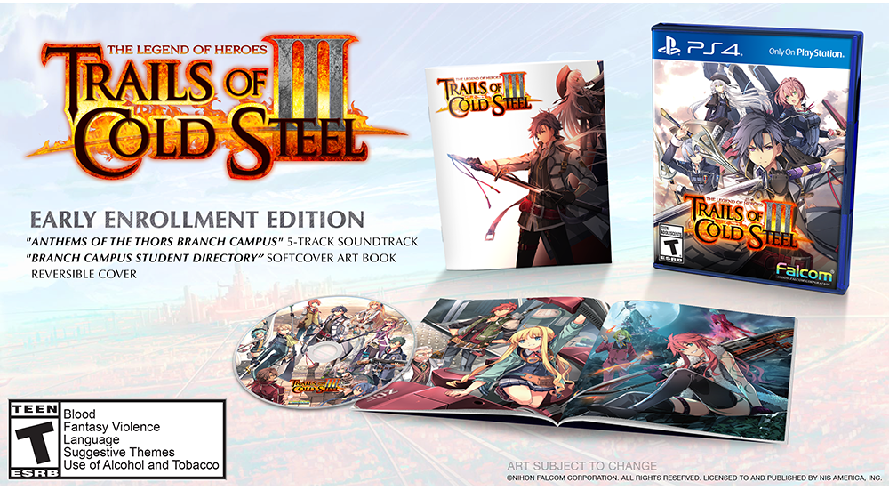 The Legend of Heroes: Trails of Cold Steel III - Early Enrollment Edition