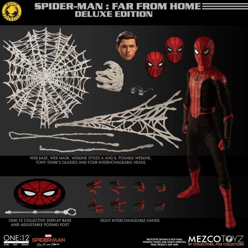 Mezco One12 Spider Man FFH 7