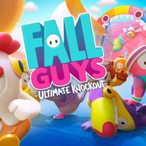 Fall Guys - title screen