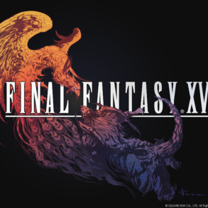 Final Fantasy XVI - black logo