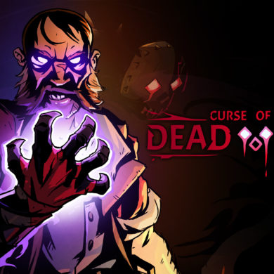 Curse of the Dead gods - key art