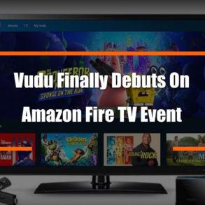 Vudu Amazon Debut Feature