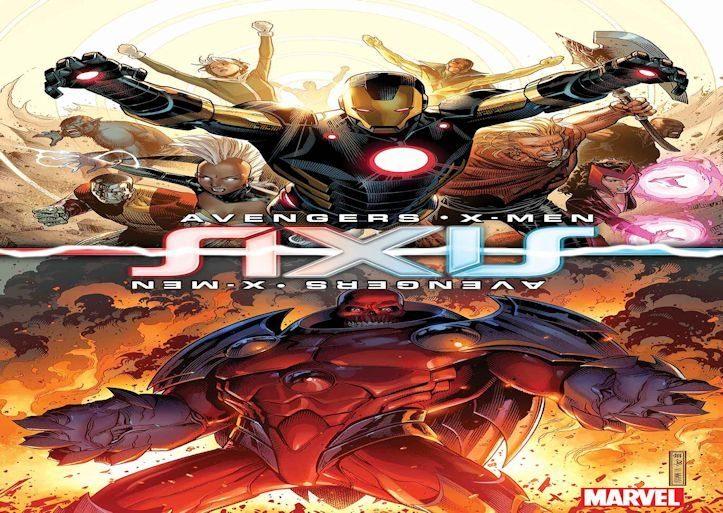 Avengers X Men AXIS 1 Slider