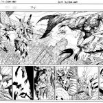 Avengers and X Men AXIS 1 Preview 2 Inks