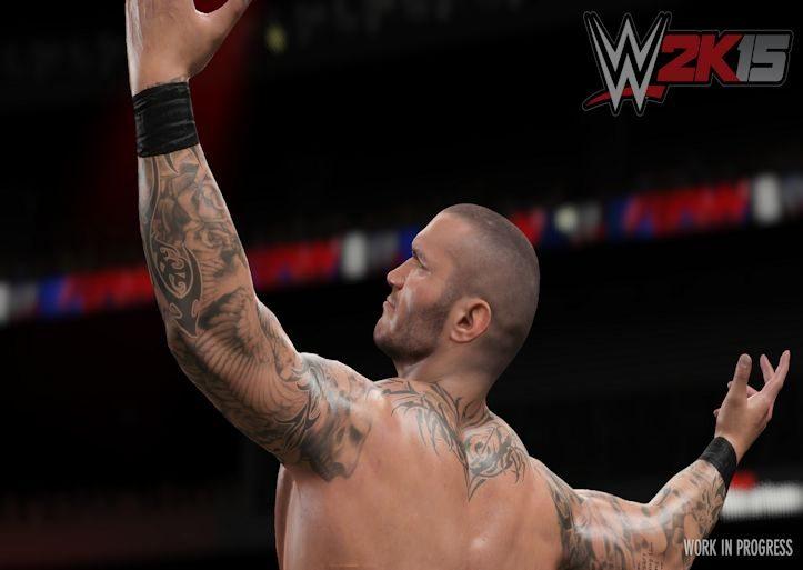 Orton WWE 2K15