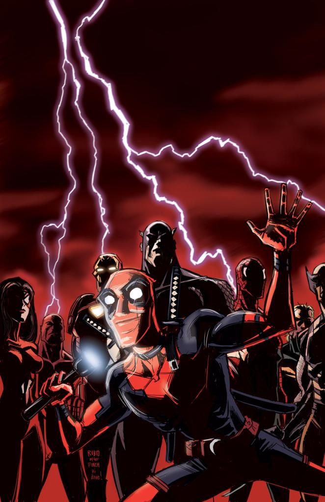 New Avengers 25 Rubio Deadpool 75th Variant