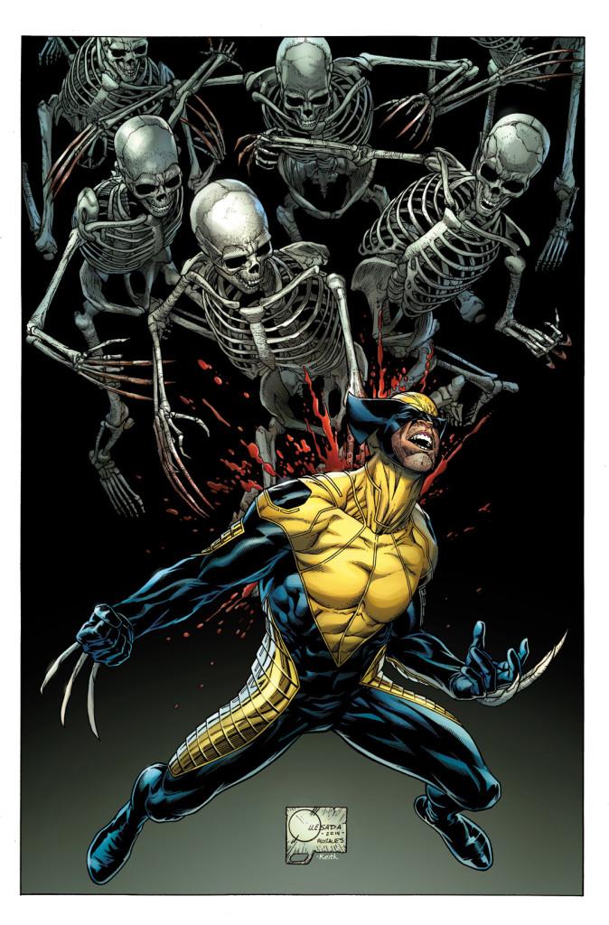 Death of Wolverine 1 Quesada Variant