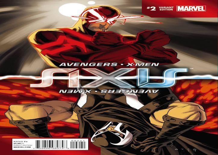 Avengers X Men AXIS 2 Anka Inversion Slider