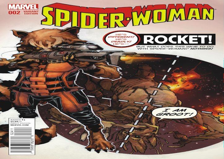Spider Woman 2 Bianchi RRG Variant Slider