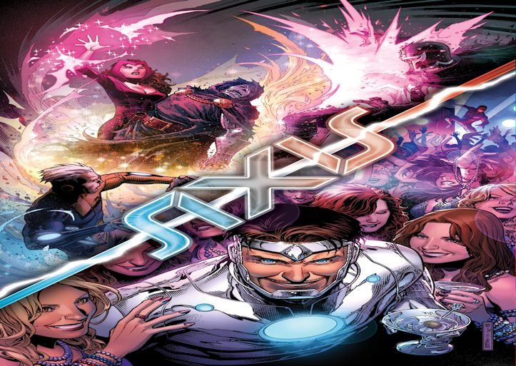 Avengers  X Men AXIS 6 Slider