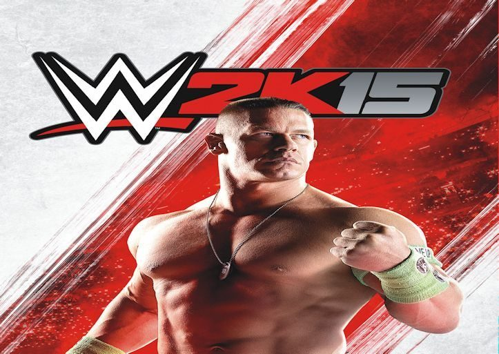WWE 2K15 Cover Slider