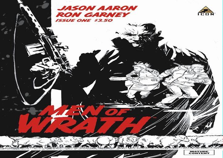 Men of Wrath 1 Second Printing Variant Slider