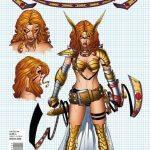 Angela Asgards Assassin 1 Quesada Design Variant