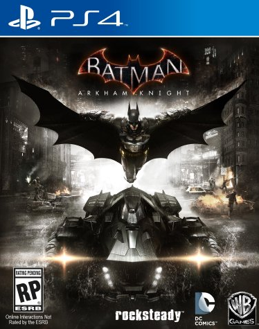 Batman Arkham Knight PS4 Cover