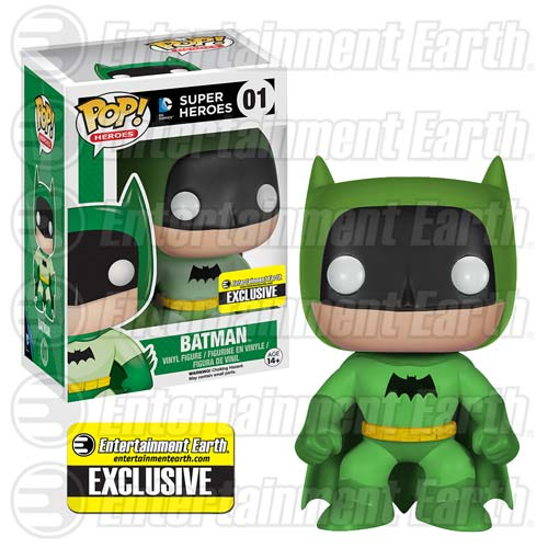 Batman Funko Green