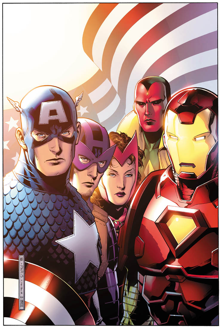 Avengers 44 Final Issue Variant