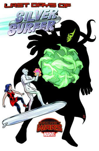 Silver Surfer 13 Cover