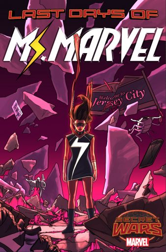Ms Marvel 16 Cover