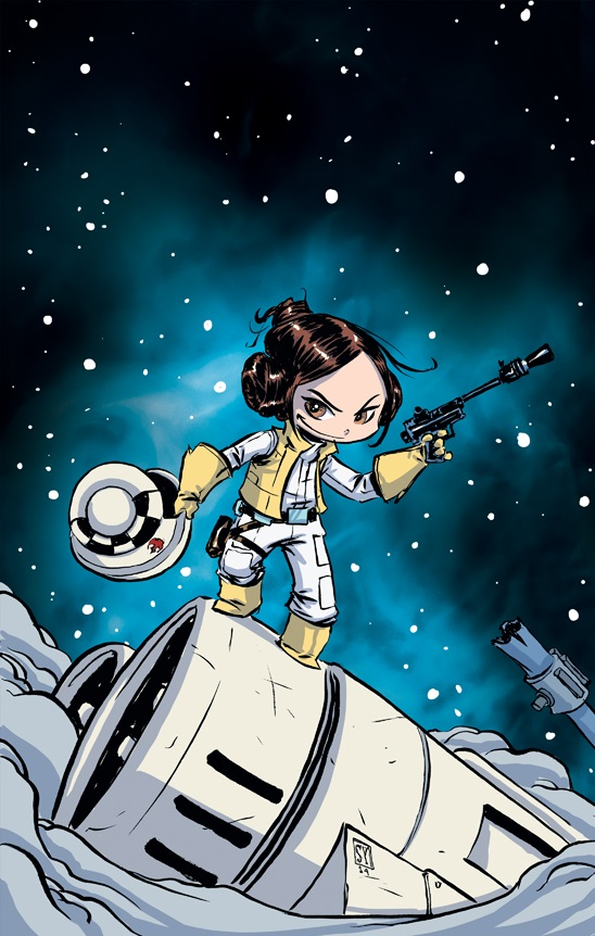 Princess Leia 1 Young Variant