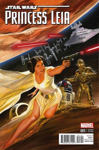 Princess Leia 1 Ross Variant