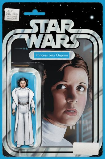 Princess Leia 1 Christopher Action Figure Variant