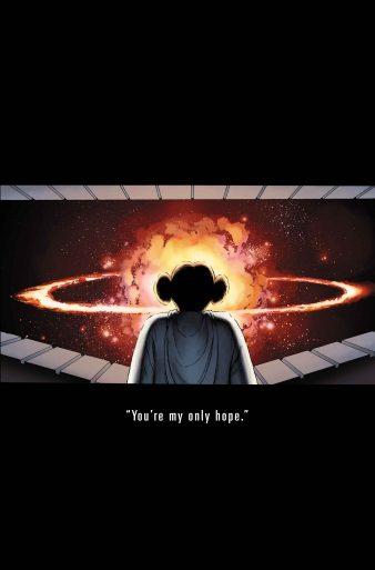 Princess Leia 1 Cassaday Teaser Variant