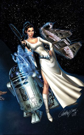 Princess Leia 1 Campbell Variant NEW
