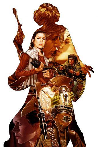 Princess Leia 1 Brooks Variant