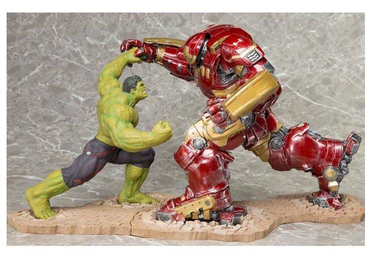Koto Hulk v Hulkbuster Iron Man