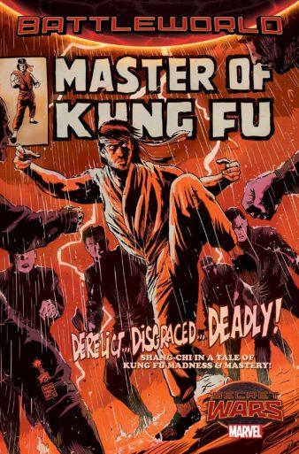 Secret Wars MASTER OF KUNG FU