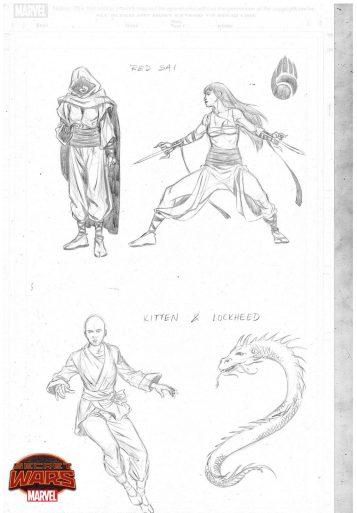 Master Kung Fu Characters 01