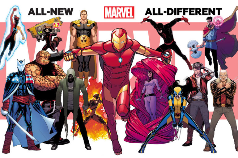 All New All Different Marvel Promo 2 by David Marquez