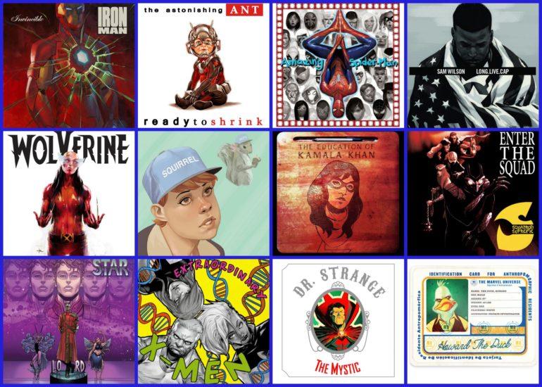 Marvel HipHop Variants 1