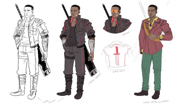 Blade Designs by Logan Faerber