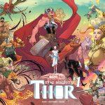 The Mighty Thor 1 Wraparound Gatefold Cover