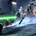 star wars battlefront e3 screen 1  luke force push v2